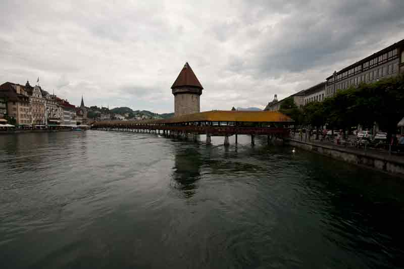 The old bridge in Luzern