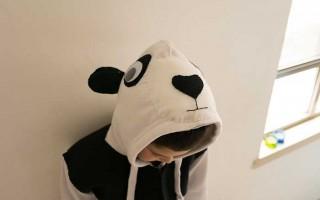 DIY Purim costumes: The Panda