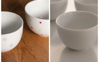Things to do with or without Kids – DIY hand painted coffee cups