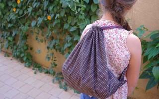 DIY String Bag for (Summer) Kids