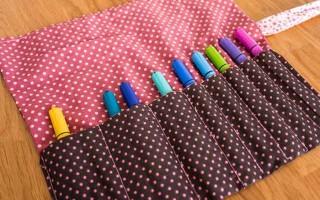 Back to School DIY – Pencil Roll