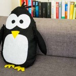 DIY Felt Penguin (with template and tutorial)