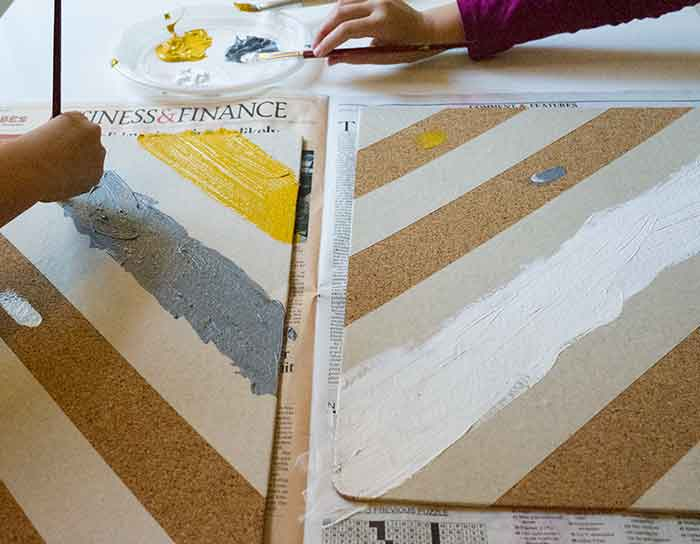 painting-cork-board