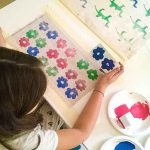 DIY Printing on Fabric with Stamps (or Things to do with or without the Kids)